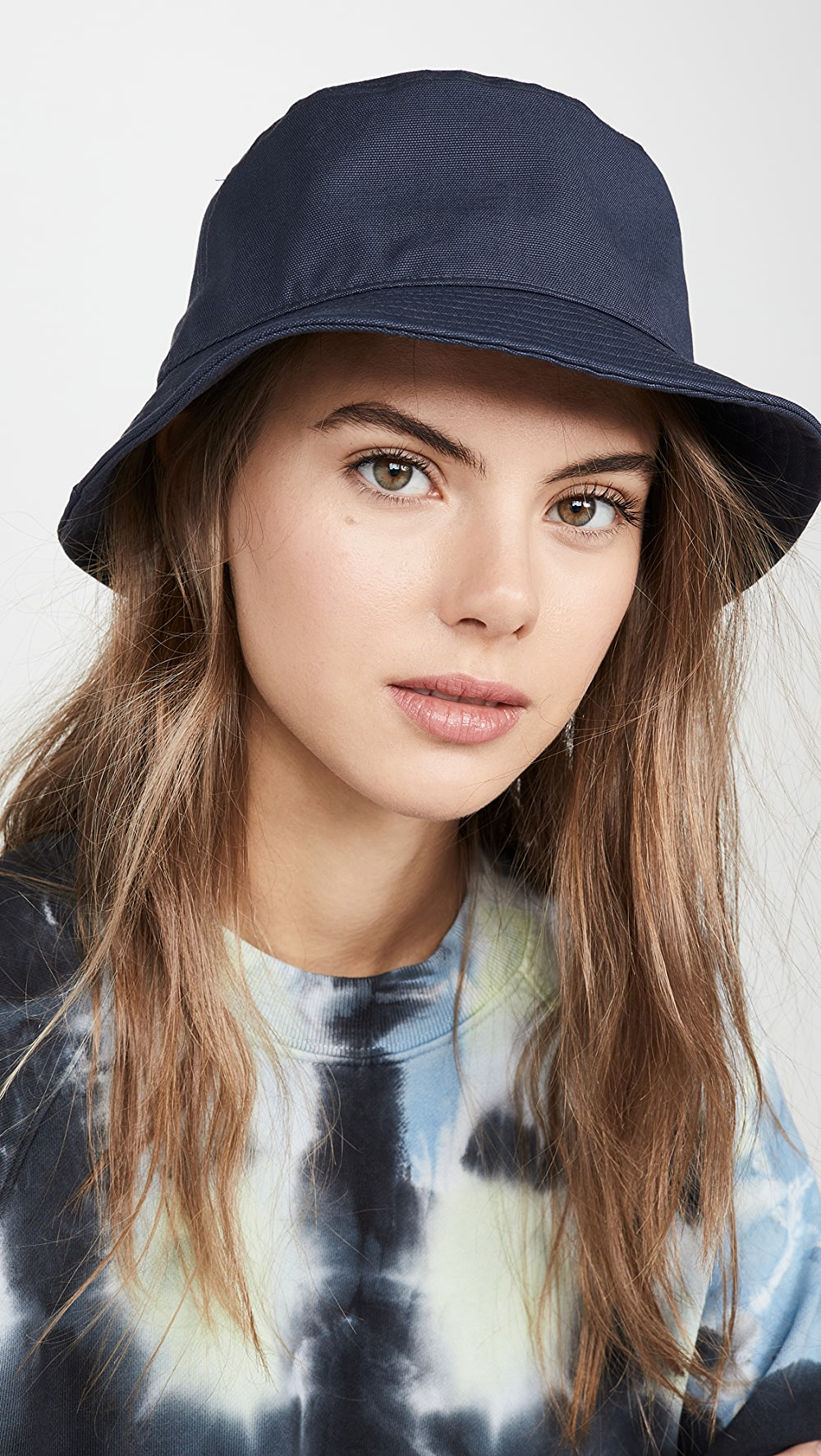 Bright Acne Studios - Brun Cotton Canvas Hat Relieving Heat And Thirst.