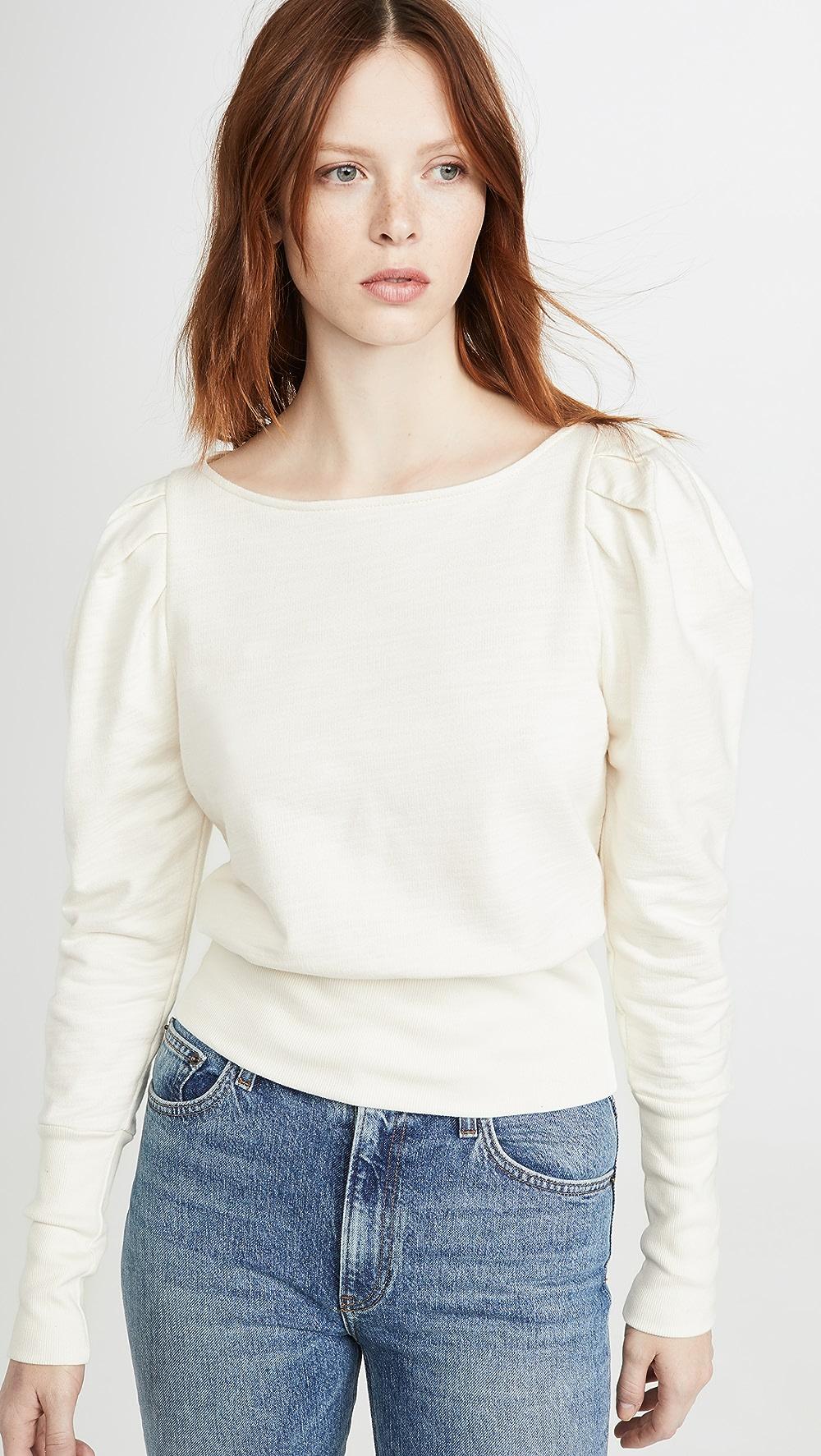 Diligent Ag - Walker Puff Sleeve Sweatshirt Choice Materials