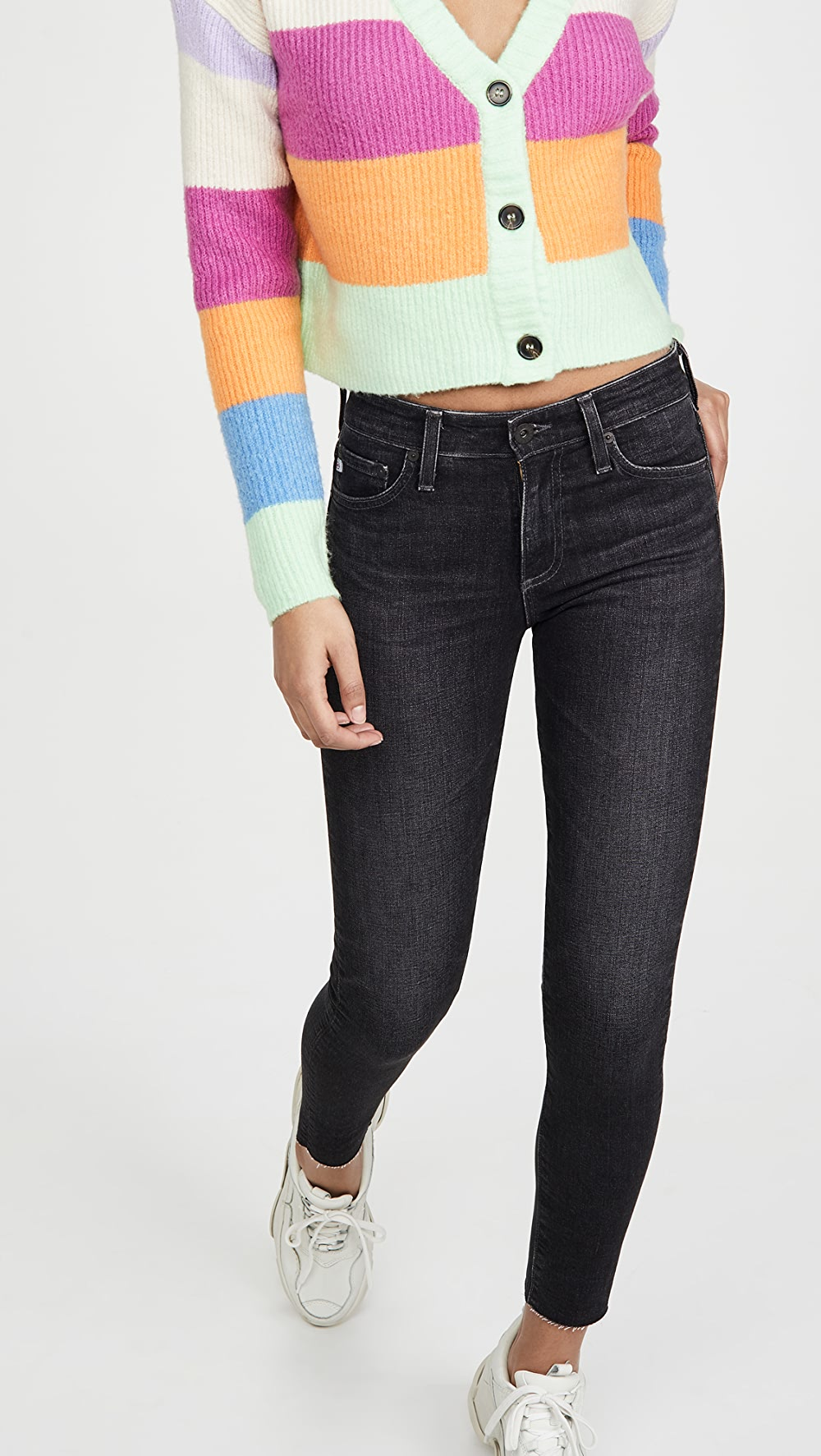 100% Quality Ag - Farrah Skinny Ankle Jeans Shrink-Proof