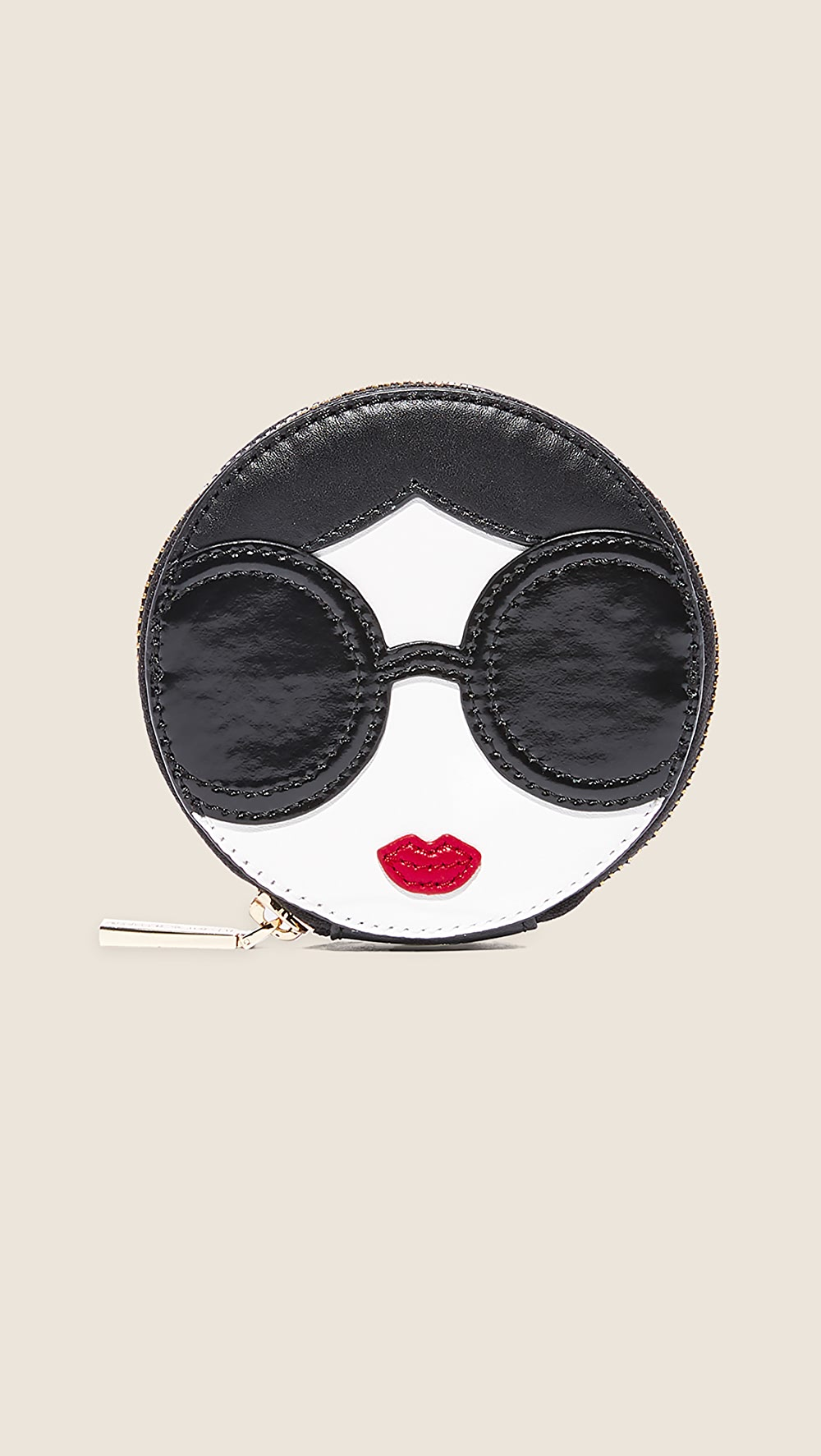 Smart Alice + Olivia - Stace Face Circular Coin Pouch Be Novel In Design