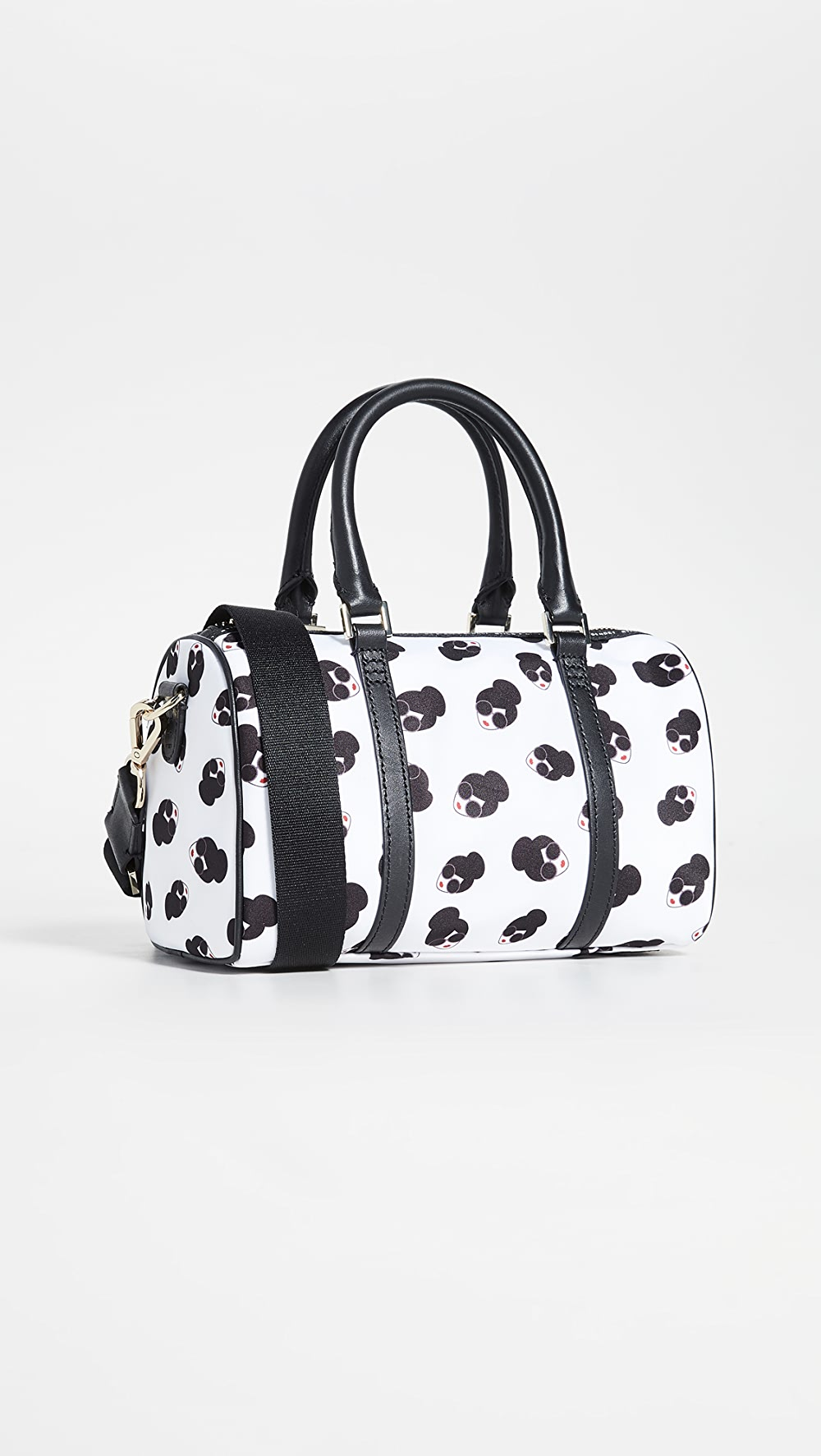 Active Alice + Olivia - Nina Small Printed Nylon Gym Bag To Be Distributed All Over The World