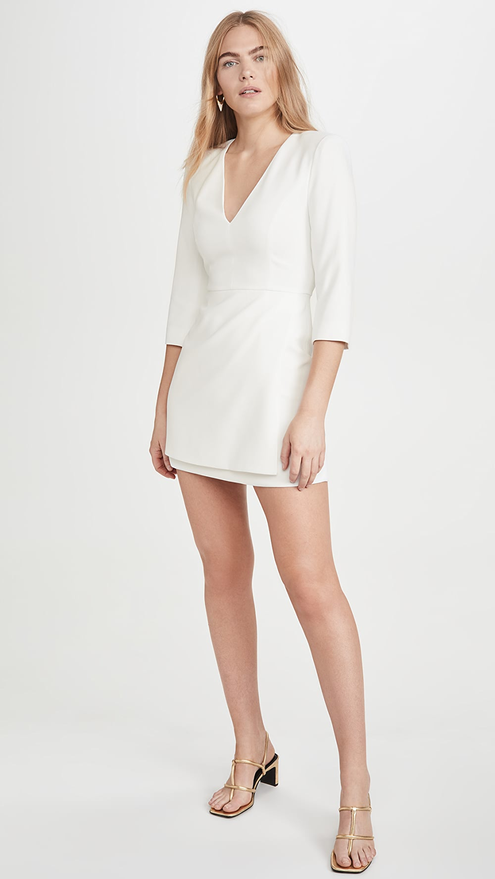 Discreet Alice + Olivia - Stevie Double Layer Dress Providing Amenities For The People; Making Life Easier For The Population