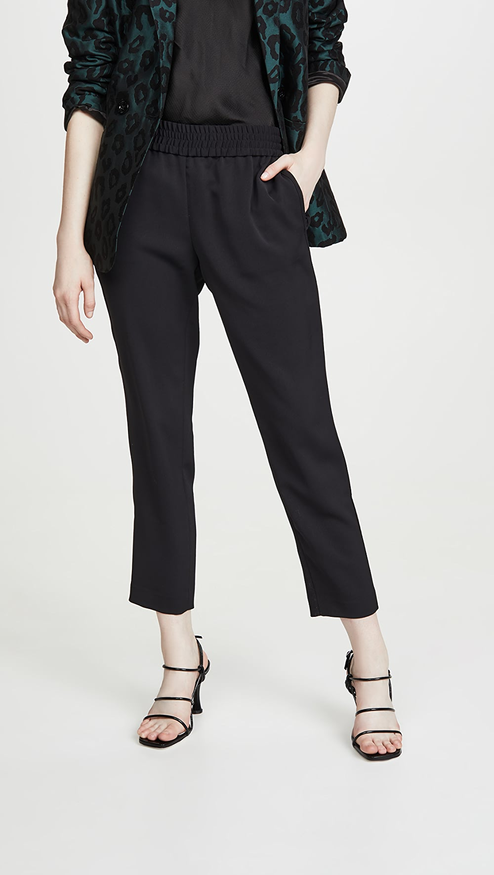 Enthusiastic Alice + Olivia - Benny Tapered Pull Up Pants Structural Disabilities