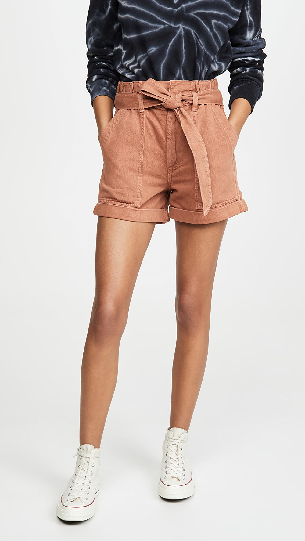 Bright Amo - Paperbag Shorts Warm And Windproof