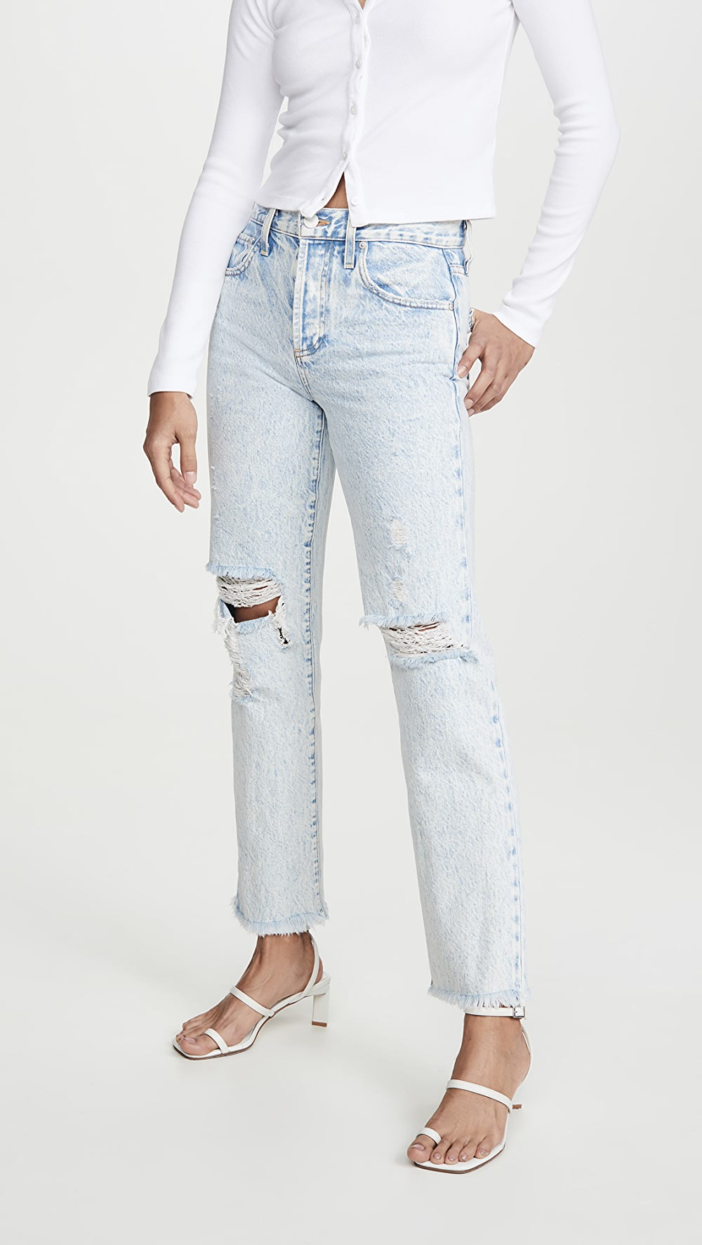 100% Quality Alice + Olivia Jeans - Amazing High Rise Boyfriend Jeans Making Things Convenient For Customers