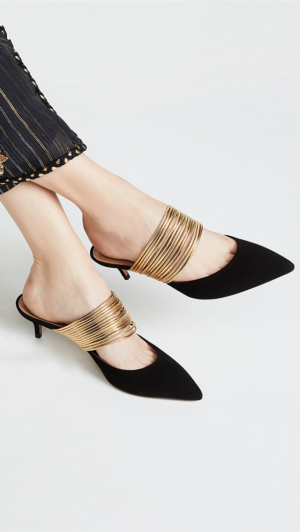 Dynamic Aquazzura - Rendez Vous 45mm Mules Relieving Heat And Thirst.