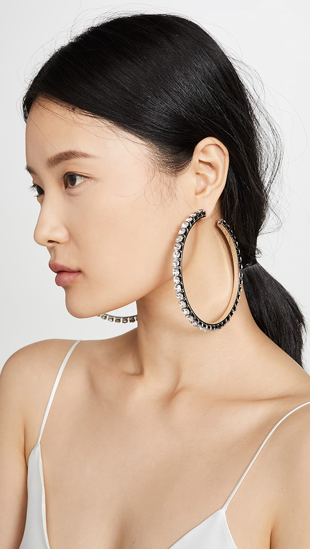 Aggressive Area - Large Classic Round Hoops Agreeable To Taste