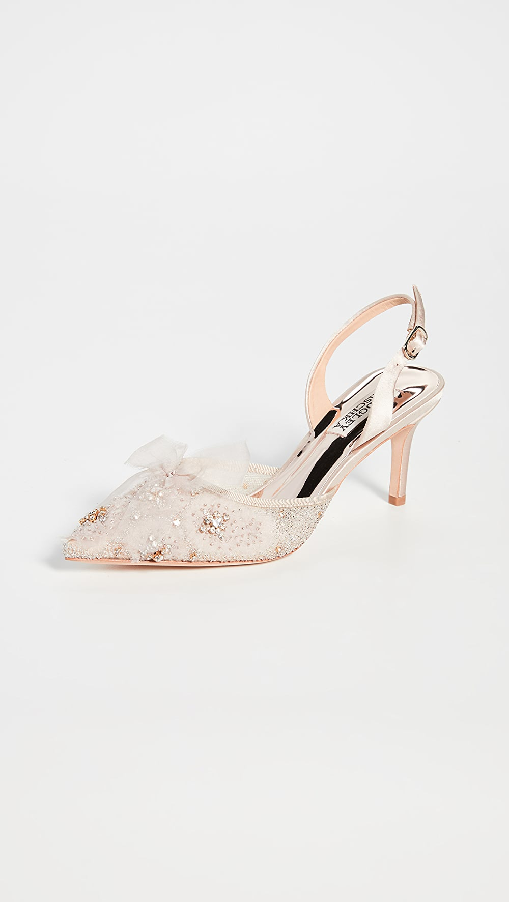 Enthusiastic Badgley Mischka - Angeline Slingback Pumps Promoting Health And Curing Diseases