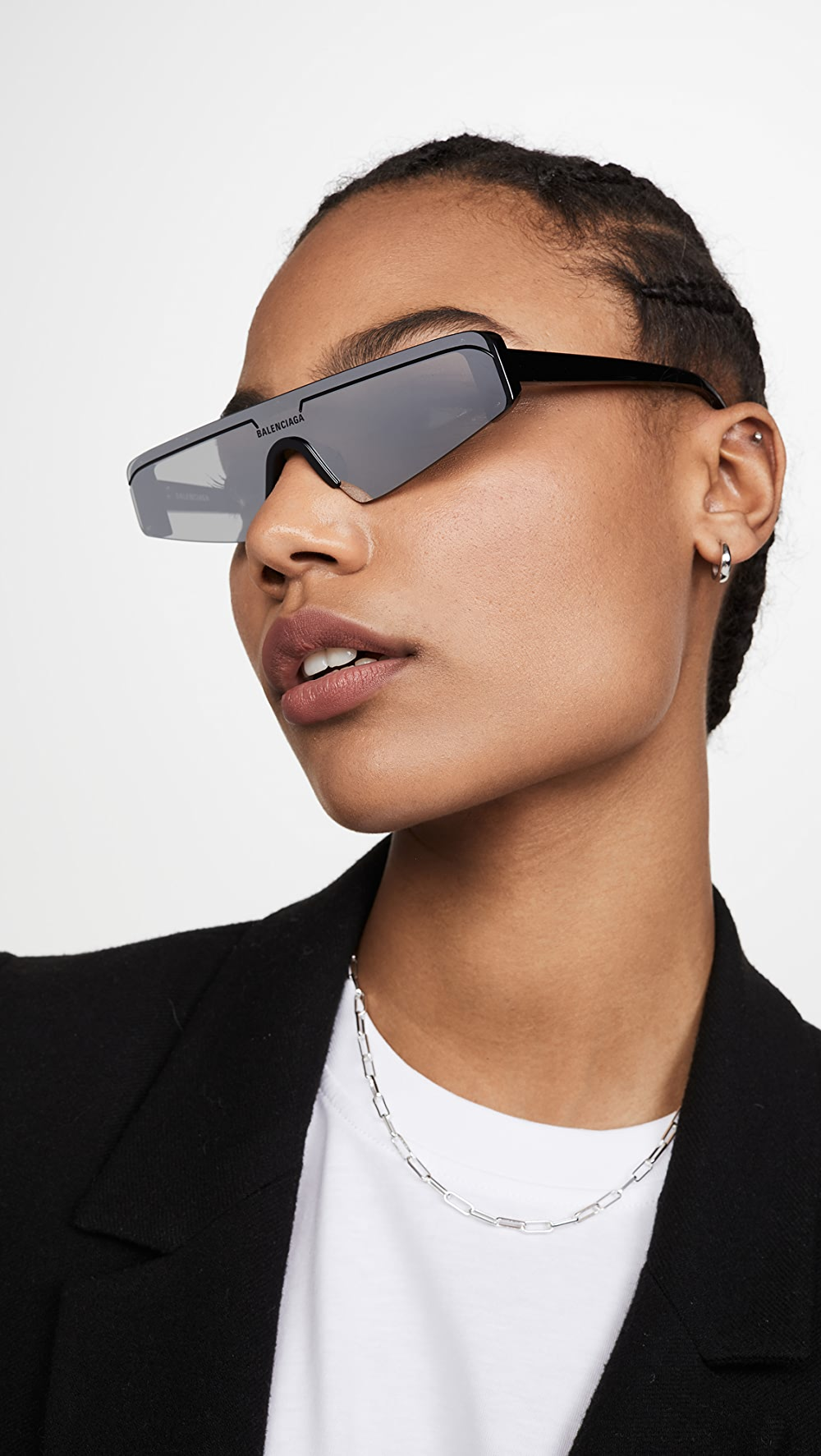 Shop For Cheap Balenciaga - Extreme Narrow Ski Goggle Sunglasses High Quality Goods