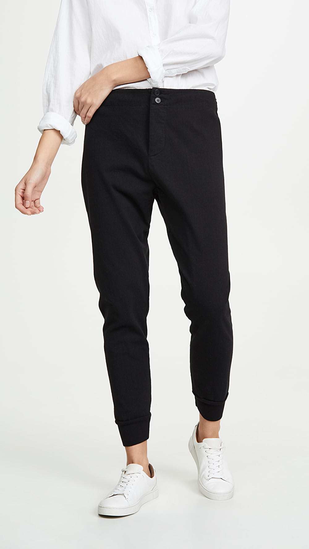 Hot Sale Bassike - Classic Slim Tapered Track Pants Strengthening Waist And Sinews