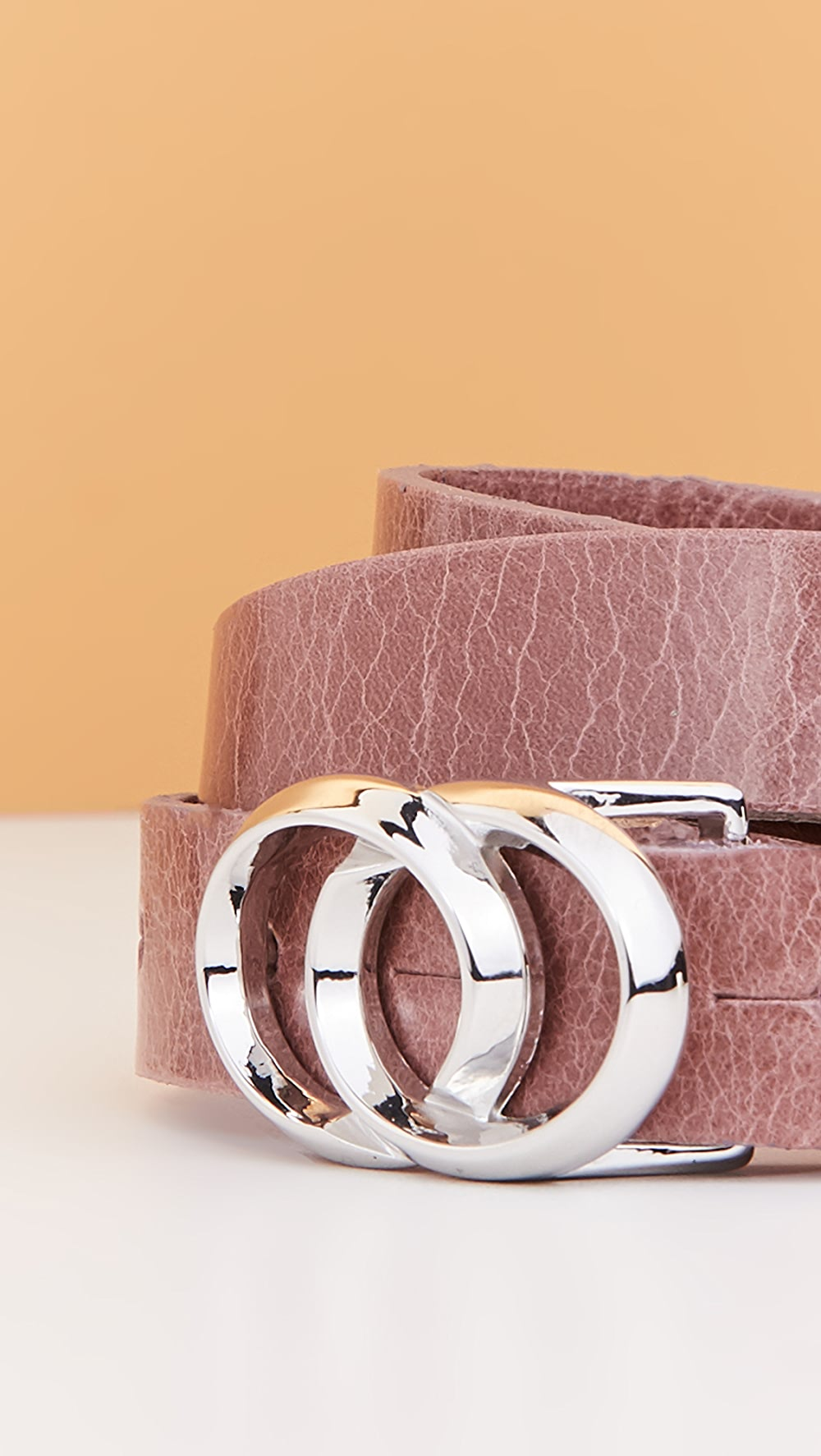 Candid B. Belt - Lia Buckle Belt Cool In Summer And Warm In Winter