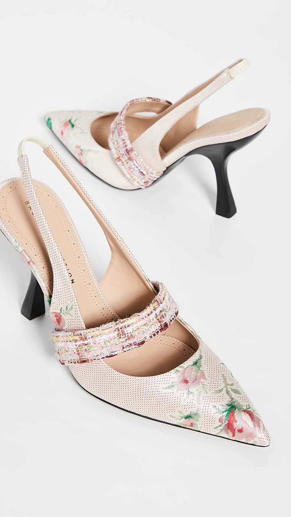 Considerate Brock Collection - Slingback Pumps Removing Obstruction