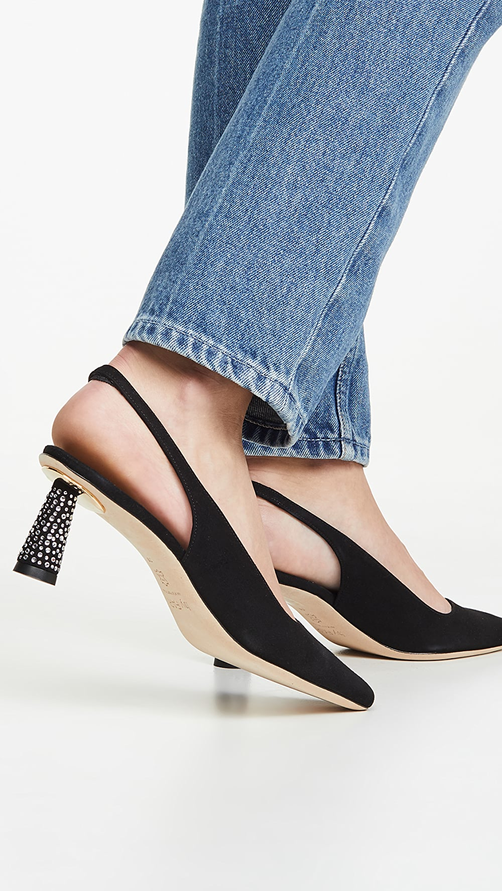 Apprehensive By Far - Diana Slingback Pumps Reliable Performance