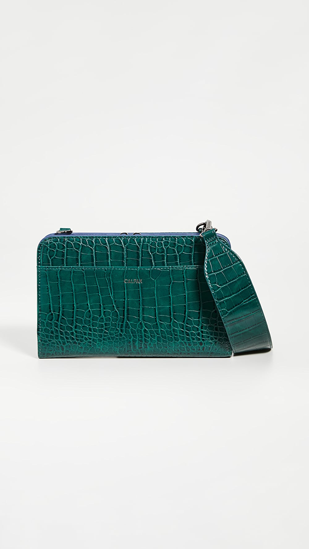 Candid Calpak - Croc Travel Wallet Up-To-Date Styling