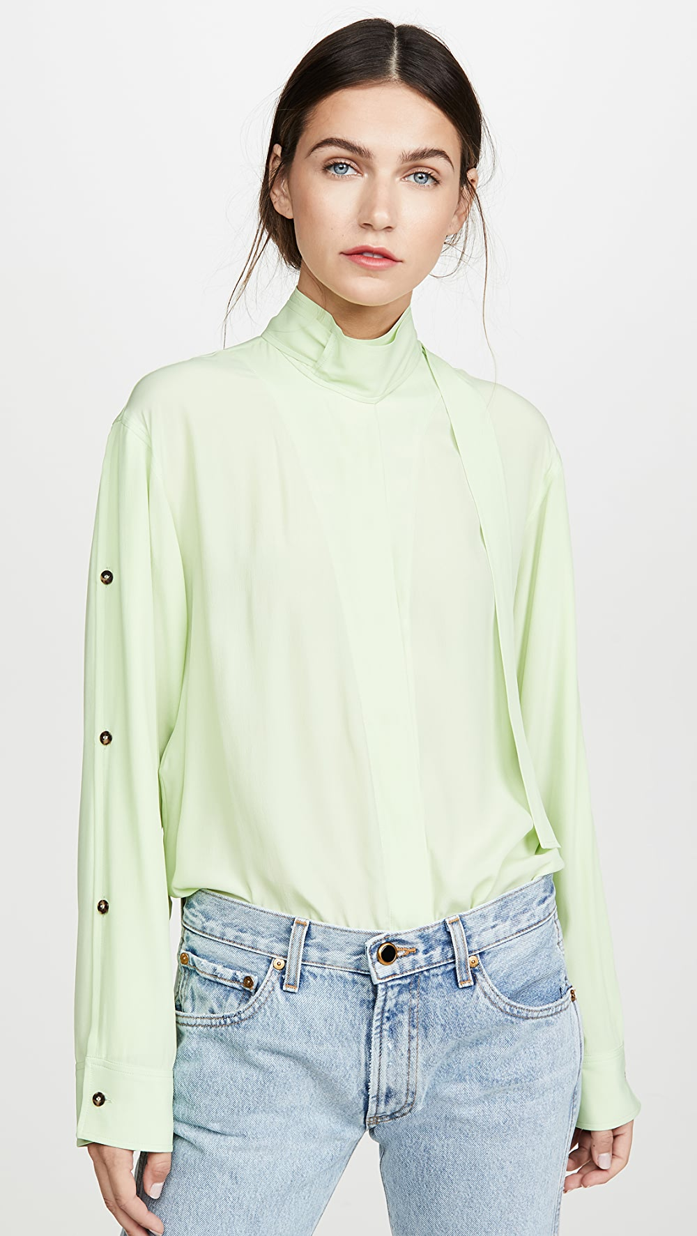 2019 Fashion Cedric Charlier - Button Down Shirt Removing Obstruction