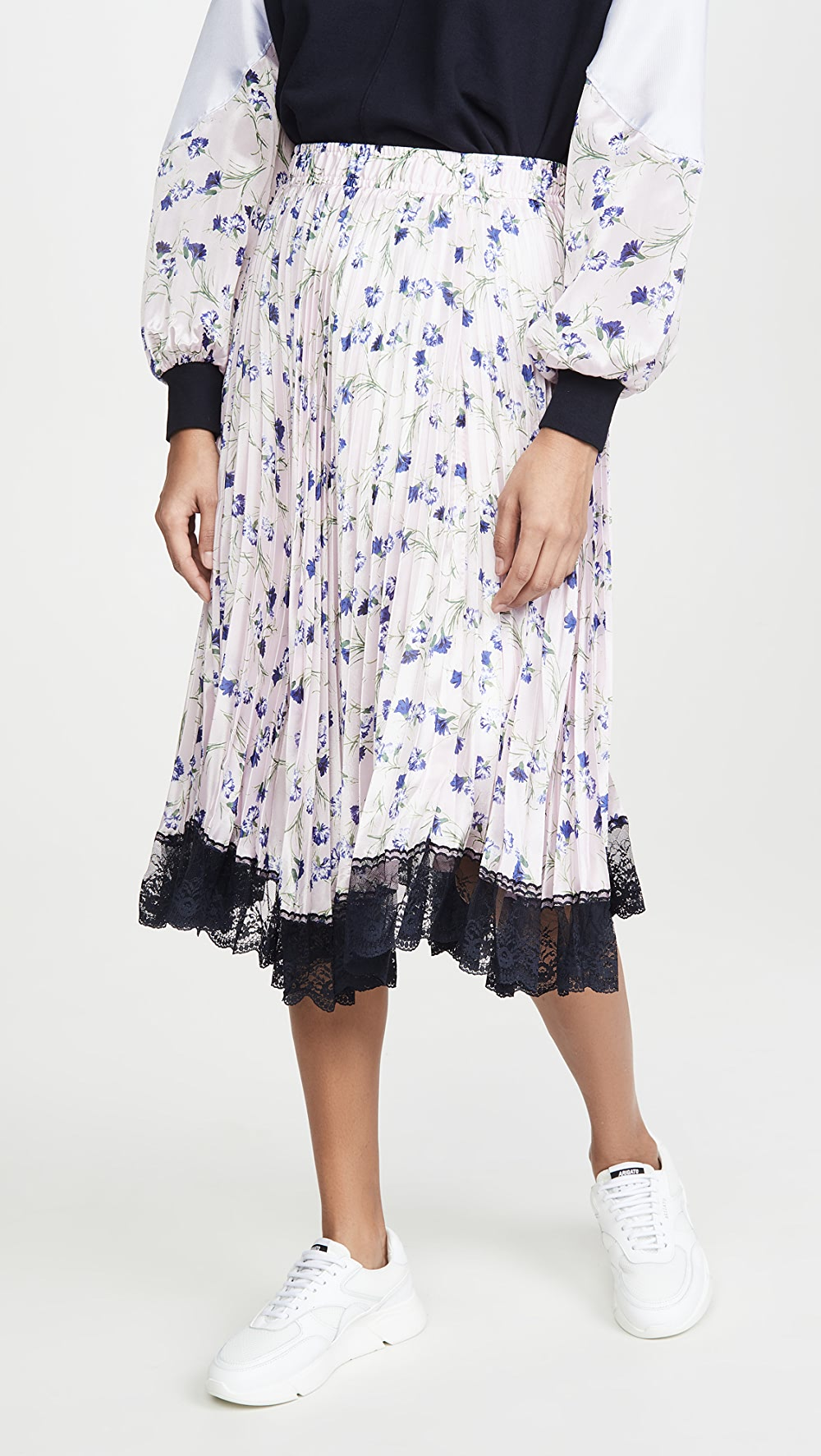 Aggressive Clu - Pleated Floral Skirt To Enjoy High Reputation In The International Market