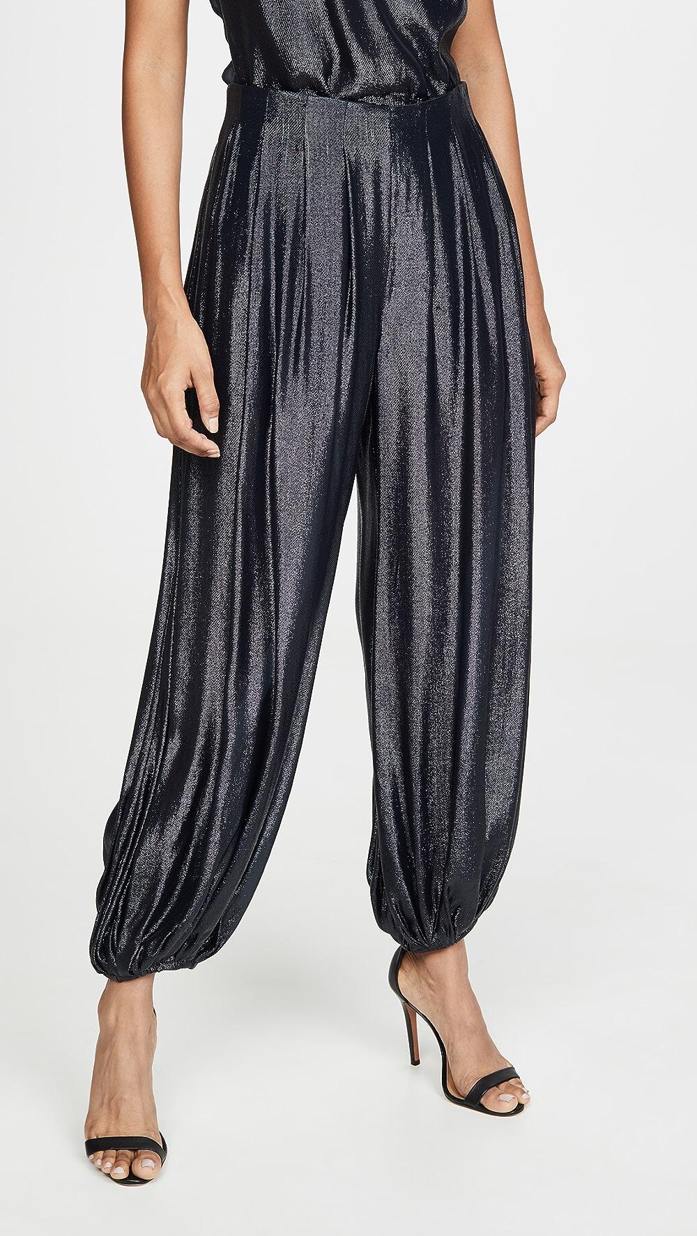 Modest Cushnie - High Waisted Harem Pants Moderate Price