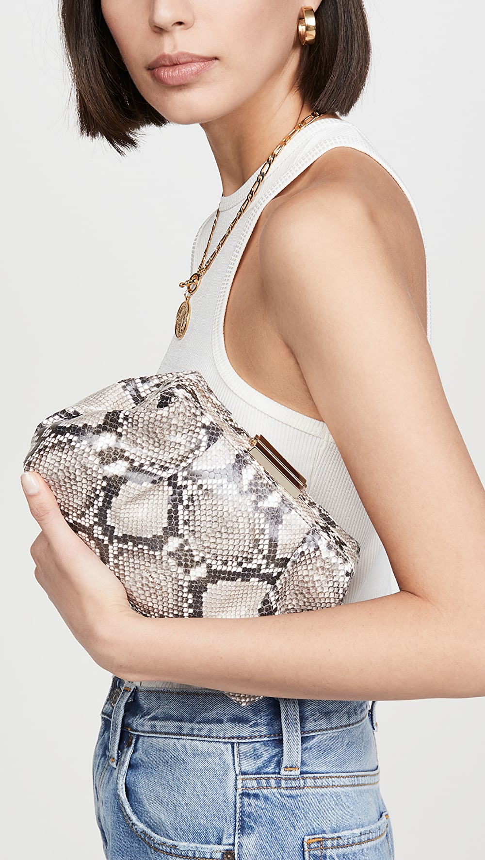 Precise Demellier - Mini Florence Clutch Suitable For Men And Women Of All Ages In All Seasons