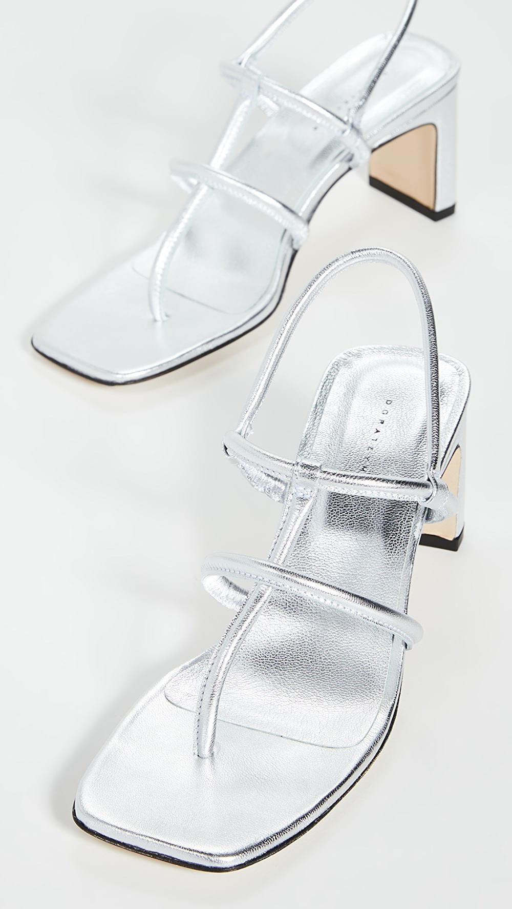 Clever Dorateymur - Heeled Thong Sandals Complete In Specifications