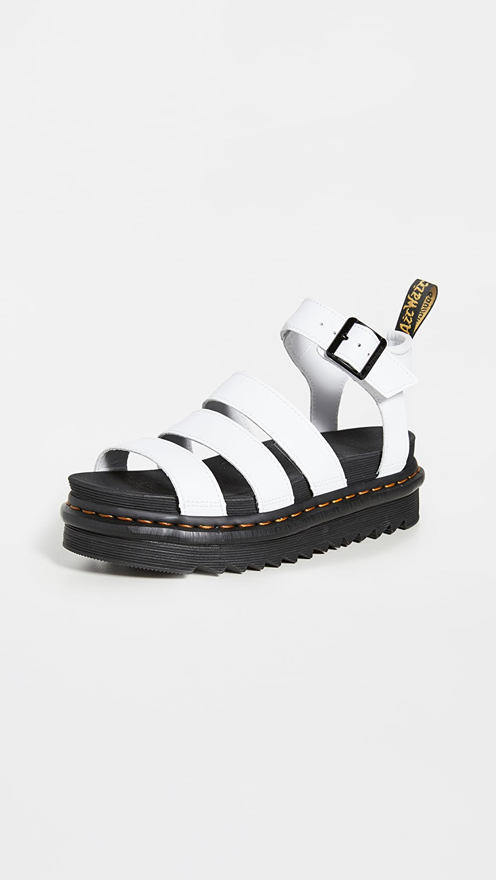 Hearty Dr. Martens - Blaire Chunky 3 Strap Sandals Sale Overall Discount 50-70%