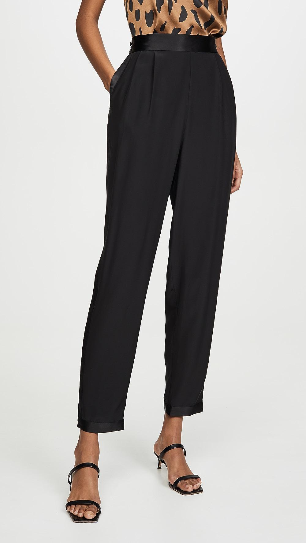 2019 Latest Design Fleur Du Mal - Tuxedo Pants Mild And Mellow