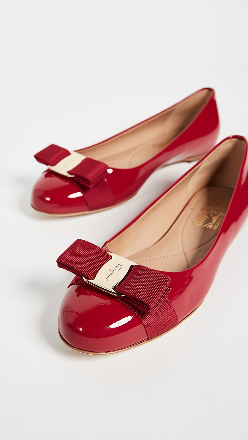 Logical Salvatore Ferragamo - Varina Flats Strong Packing
