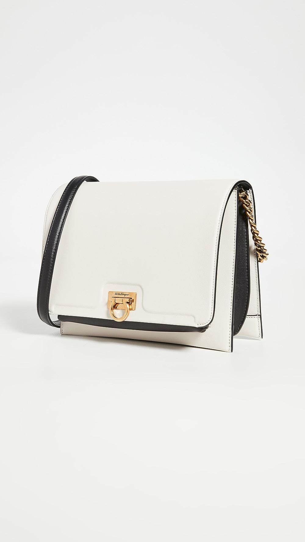 Rational Salvatore Ferragamo - Gancio Square Shoulder Bag A Wide Selection Of Colours And Designs