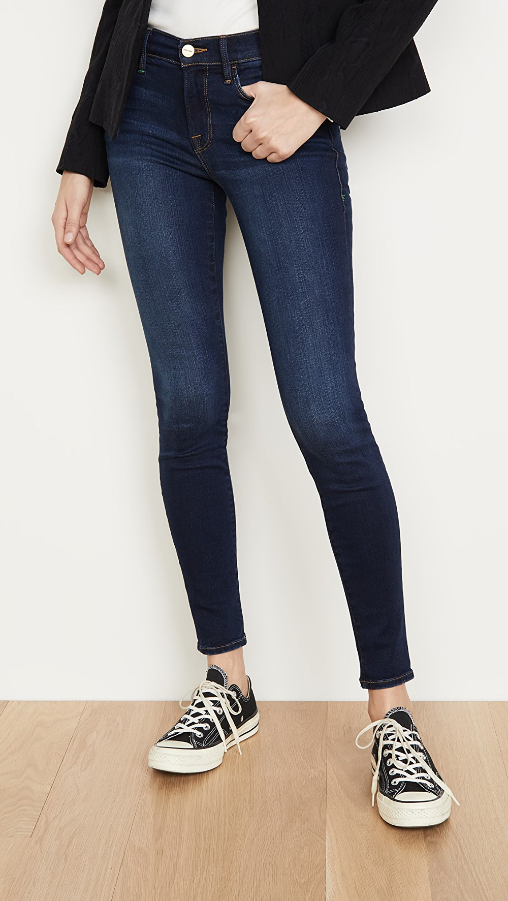 100% True Frame - Le Skinny De Jeanne Jeans Activating Blood Circulation And Strengthening Sinews And Bones