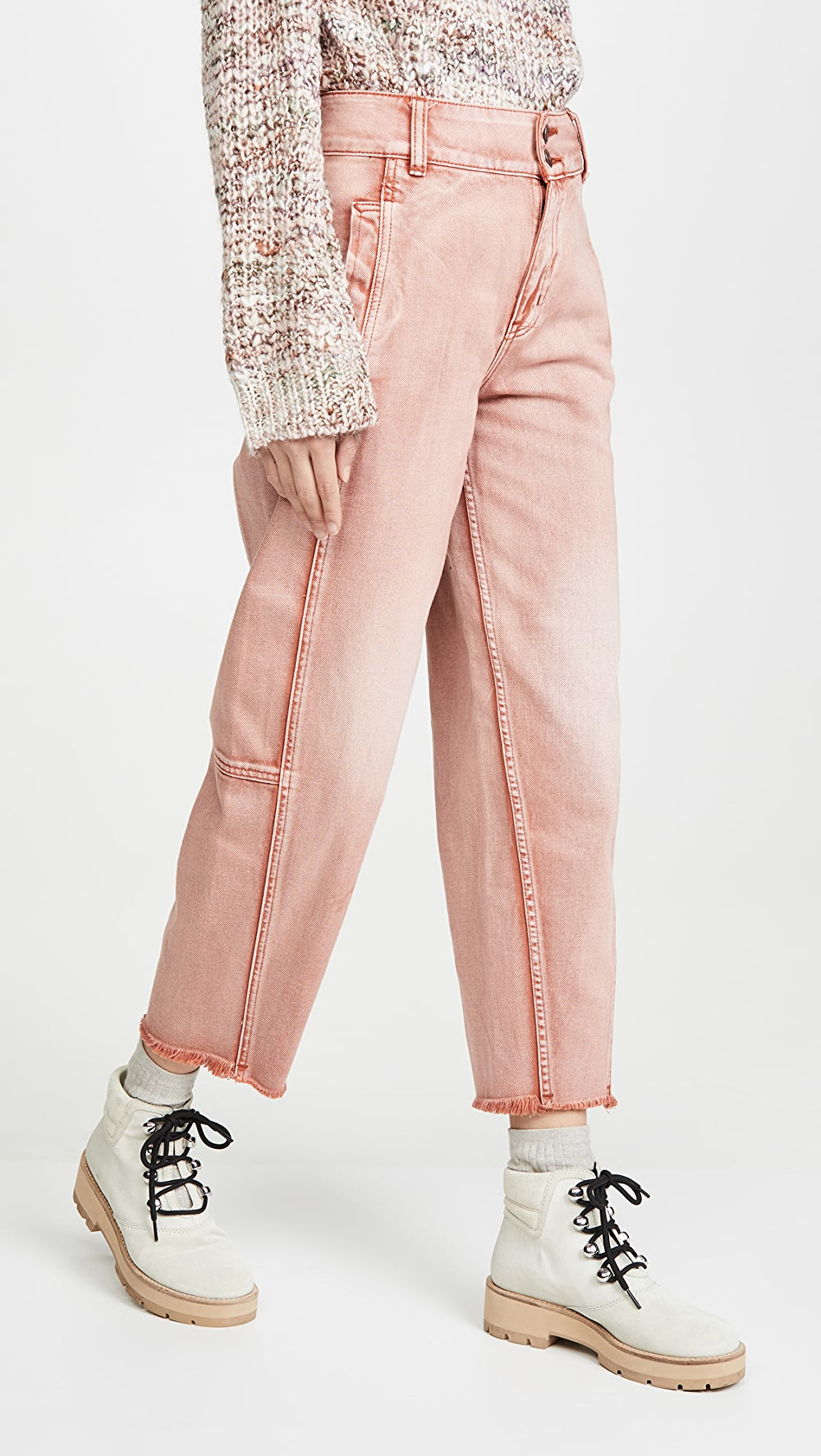 100% True Free People - Monroe Jeans Fragrant (In) Flavor