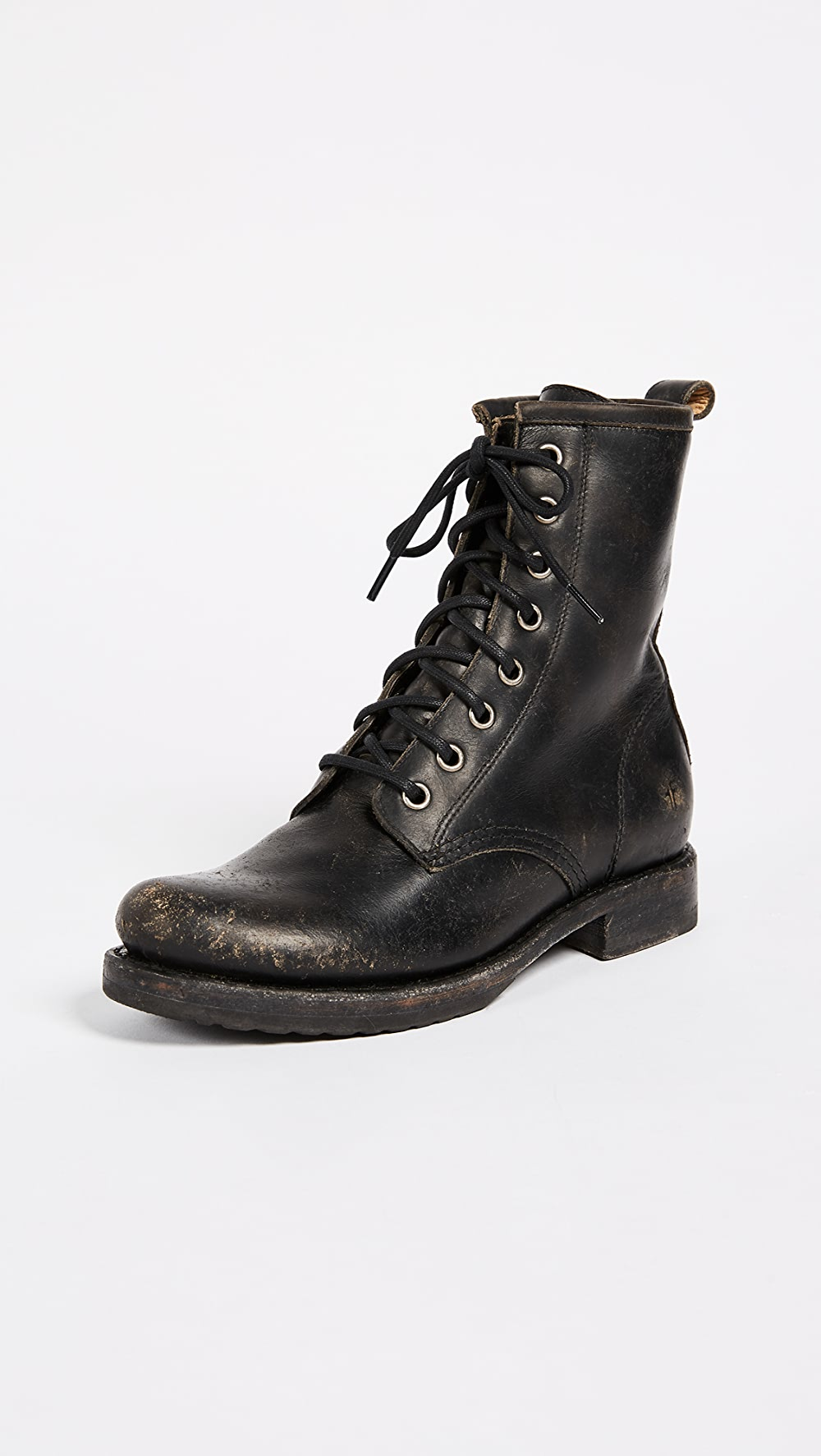 Capable Frye - Veronica Combat Boots Cheap Sales 50%