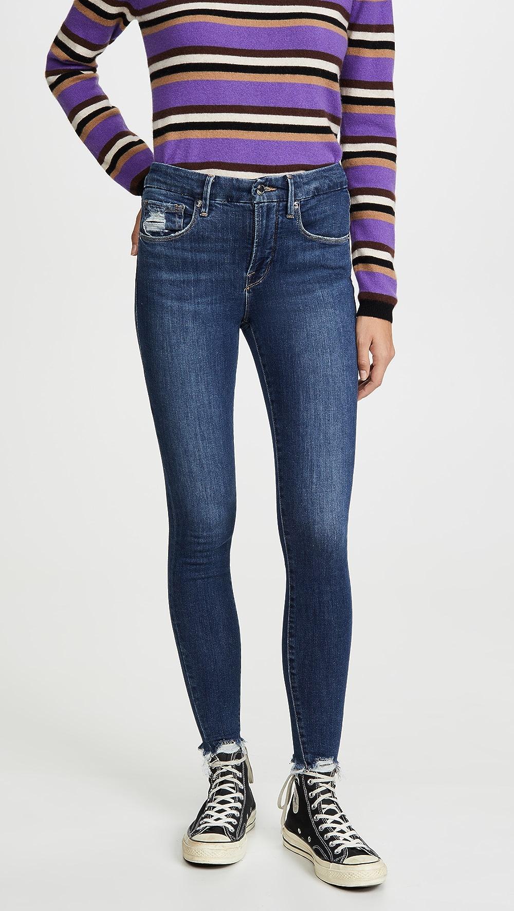 Aspiring Good American - Good Legs Extreme Stiletto Jeans Lustrous