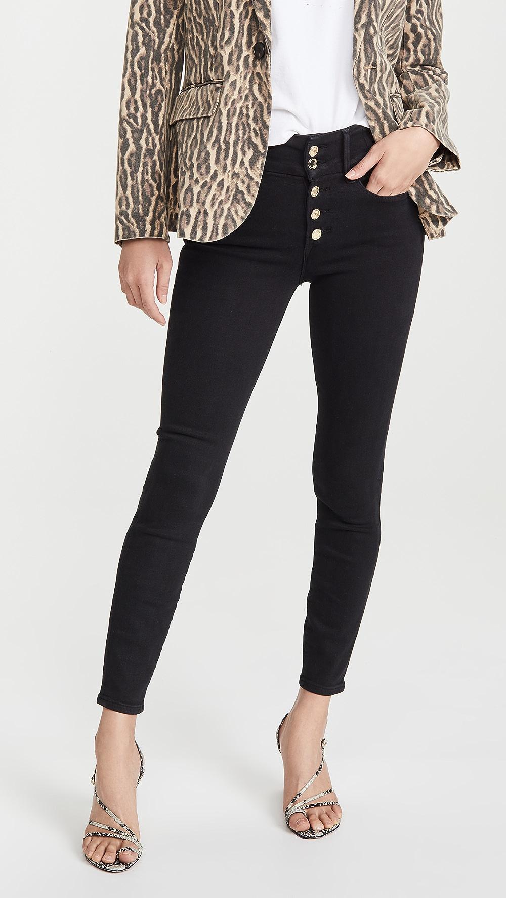 Tireless Good American - Good Waist Button Fly Jeans Online Shop