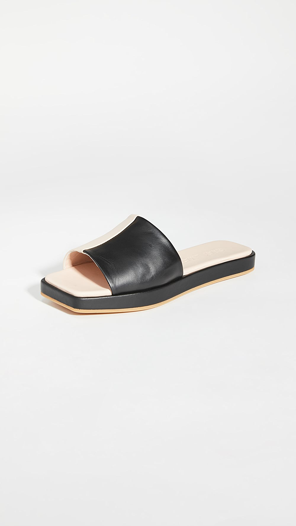 Radient Gray Matters - Classic Flatform Slides Fashionable(In) Style;
