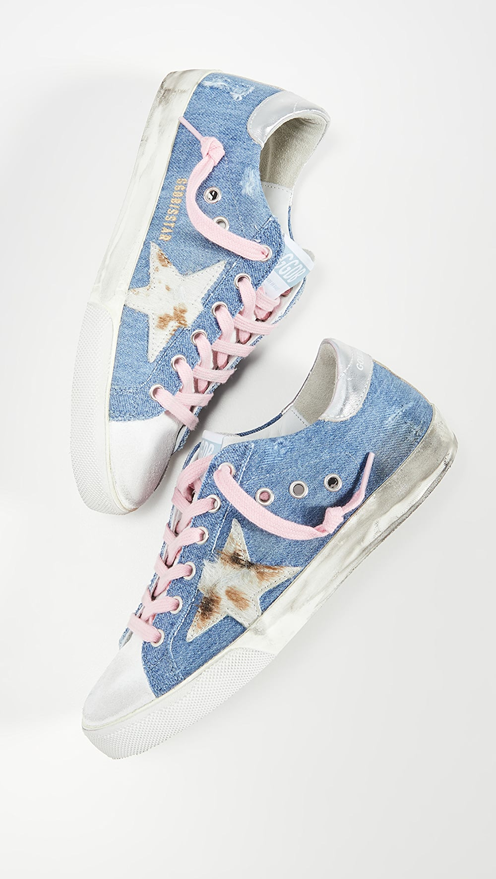 Aggressive Golden Goose - Superstar Sneakers Pure Whiteness
