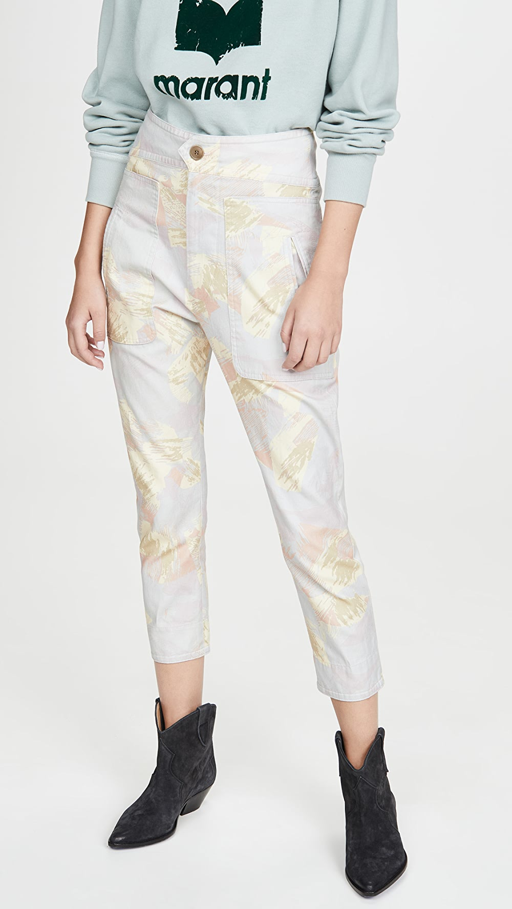 Sincere Isabel Marant Etoile - Raluni Trousers Supplement The Vital Energy And Nourish Yin