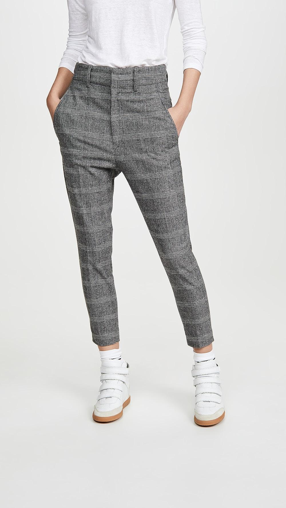 Conscientious Isabel Marant Etoile - Noah Trousers Durable Modeling