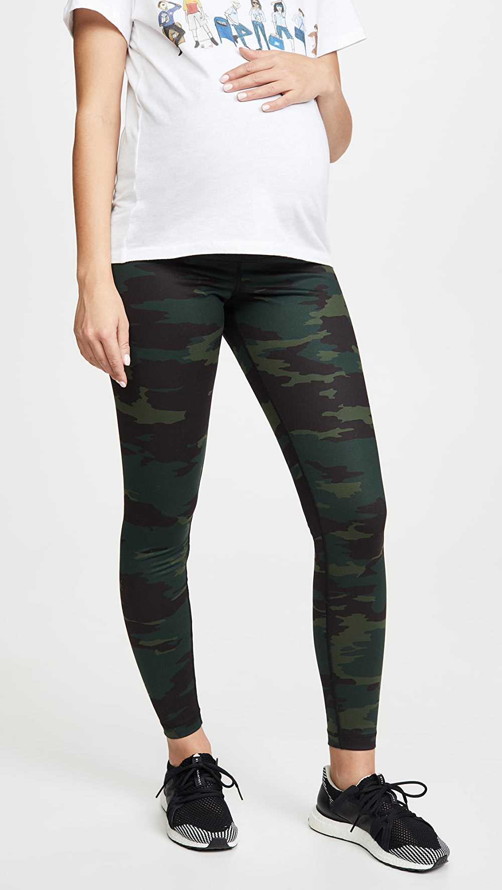 Aspiring Ingrid & Isabel - Active Leggings With Crossover Panel Fine Craftsmanship