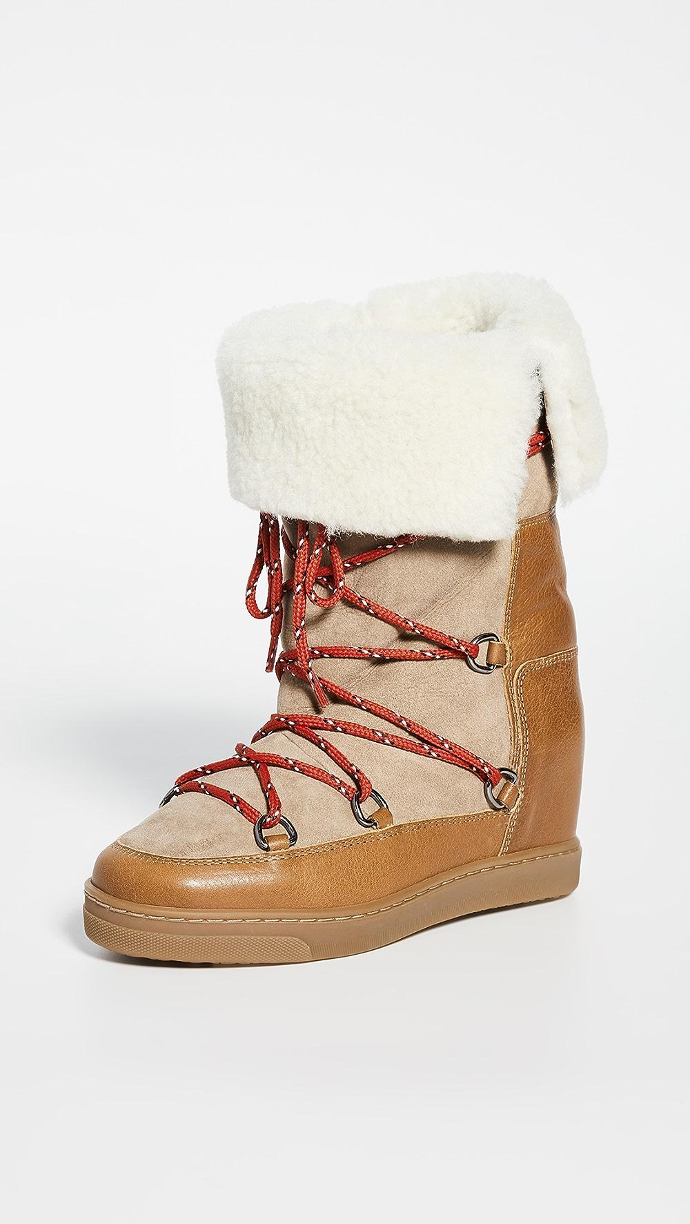 Faithful Isabel Marant - Nowly Boots Buy One Get One Free