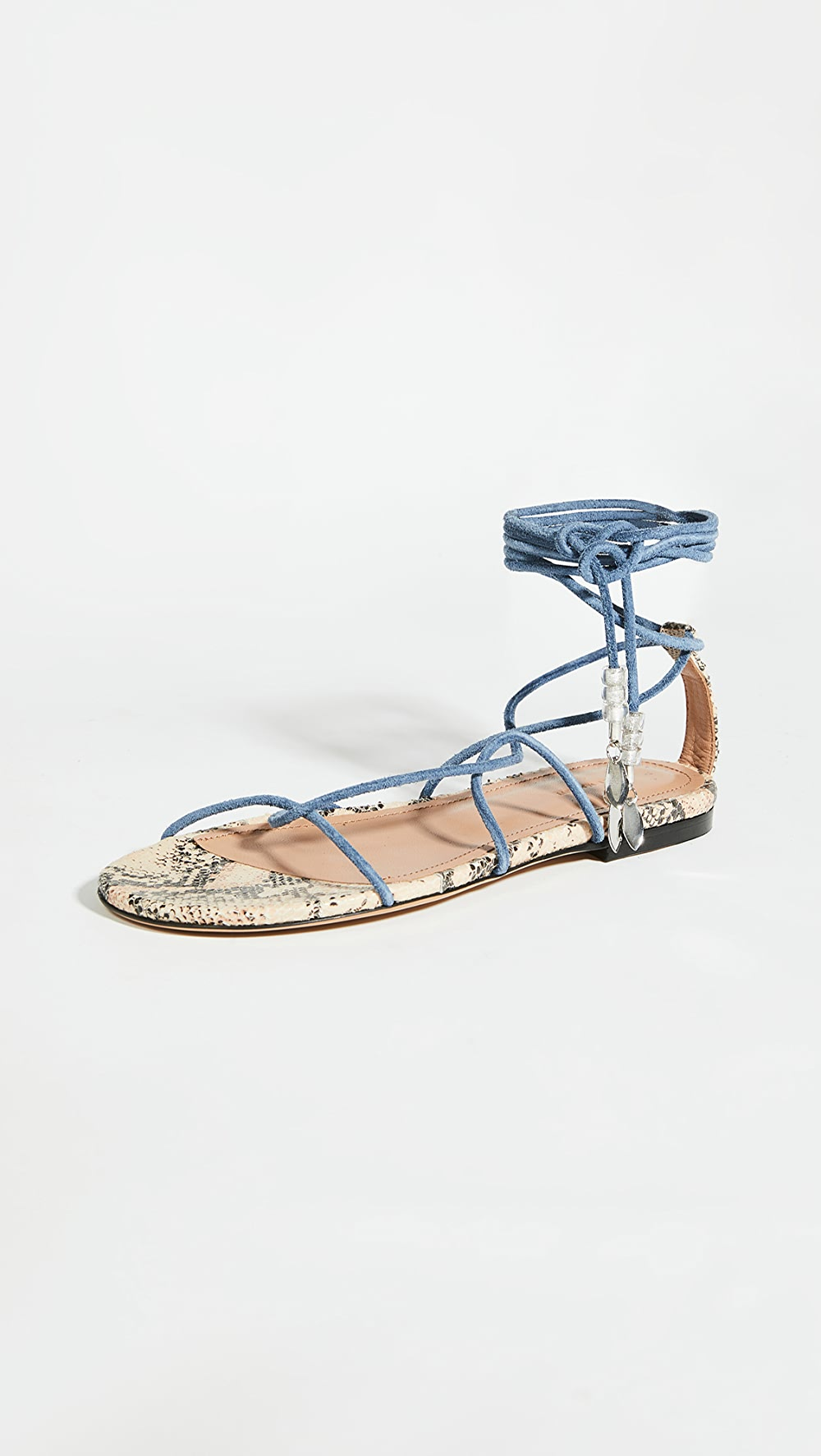 Forceful Isabel Marant - Jindia Flat Strappy Sandals Yet Not Vulgar