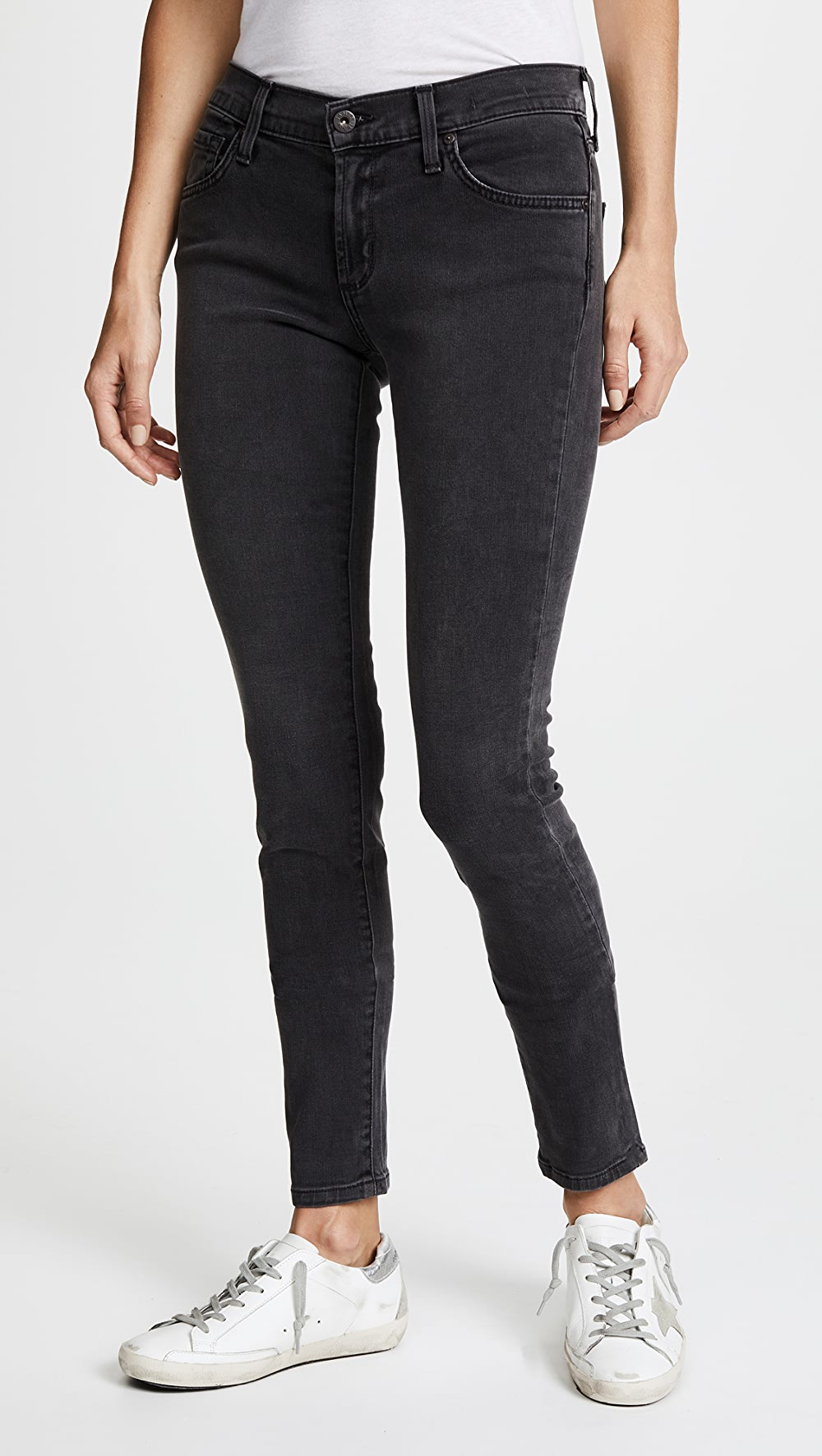 Conscientious James Jeans - Twiggy 5 Pocket Skinny Jeans Driving A Roaring Trade