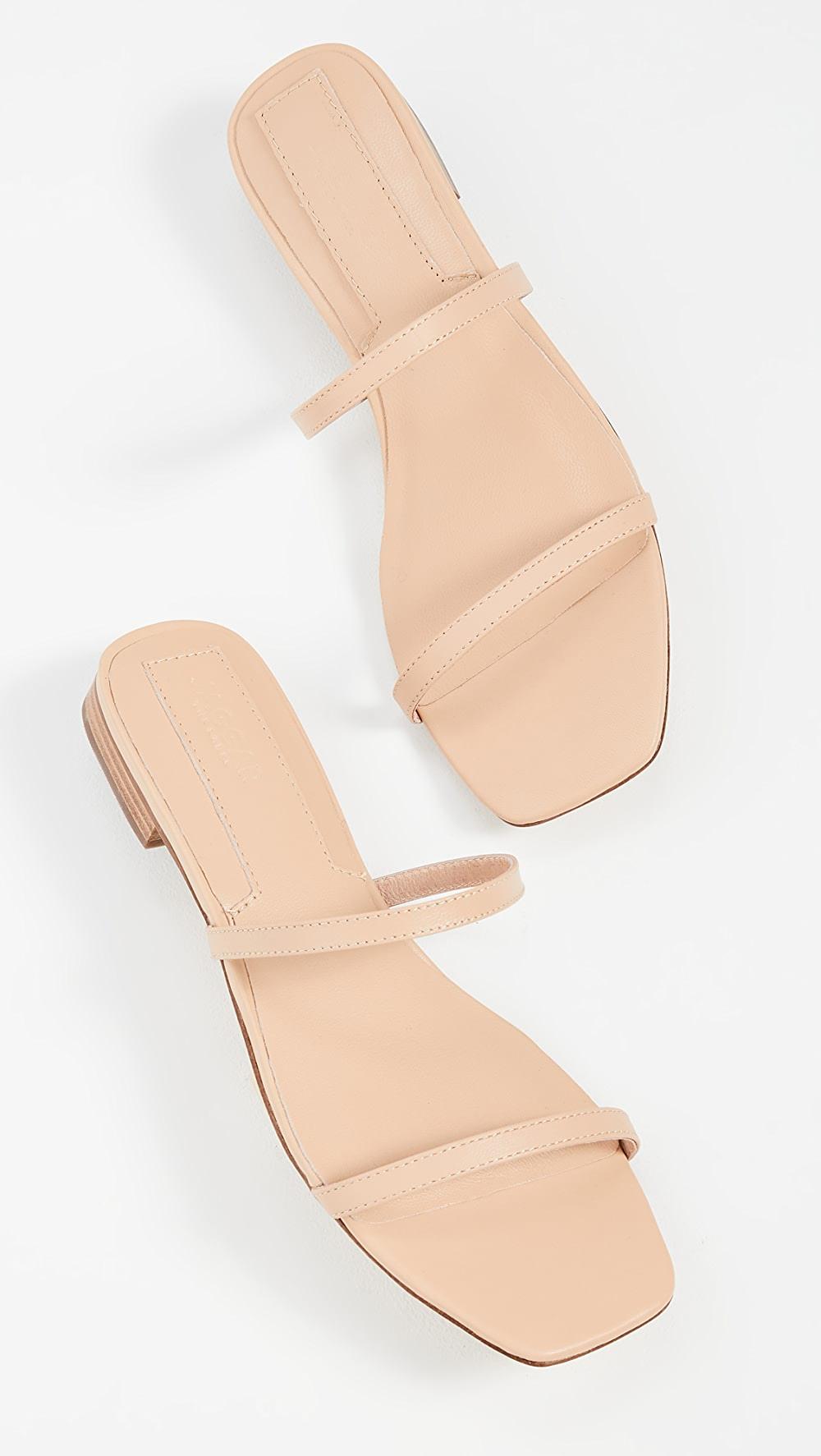 Bright Jaggar - Sprung Double Strap Flats Sales Of Quality Assurance