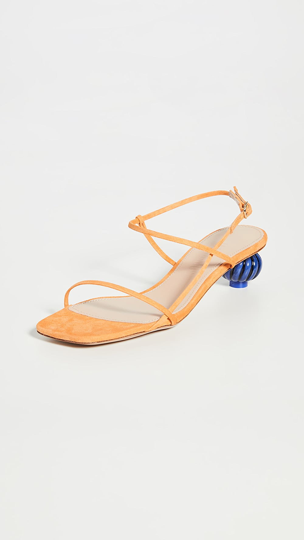Cooperative Jacquemus - Manosque Suede Sandals Fashionable(In) Style;