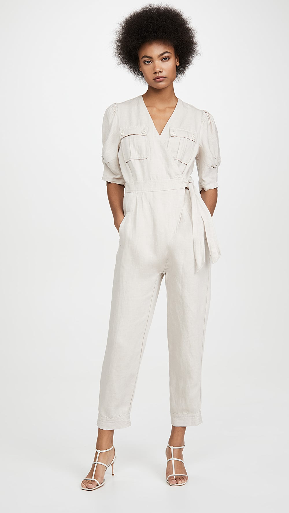 100% True Joie - Leroy Jumpsuit Terrific Value