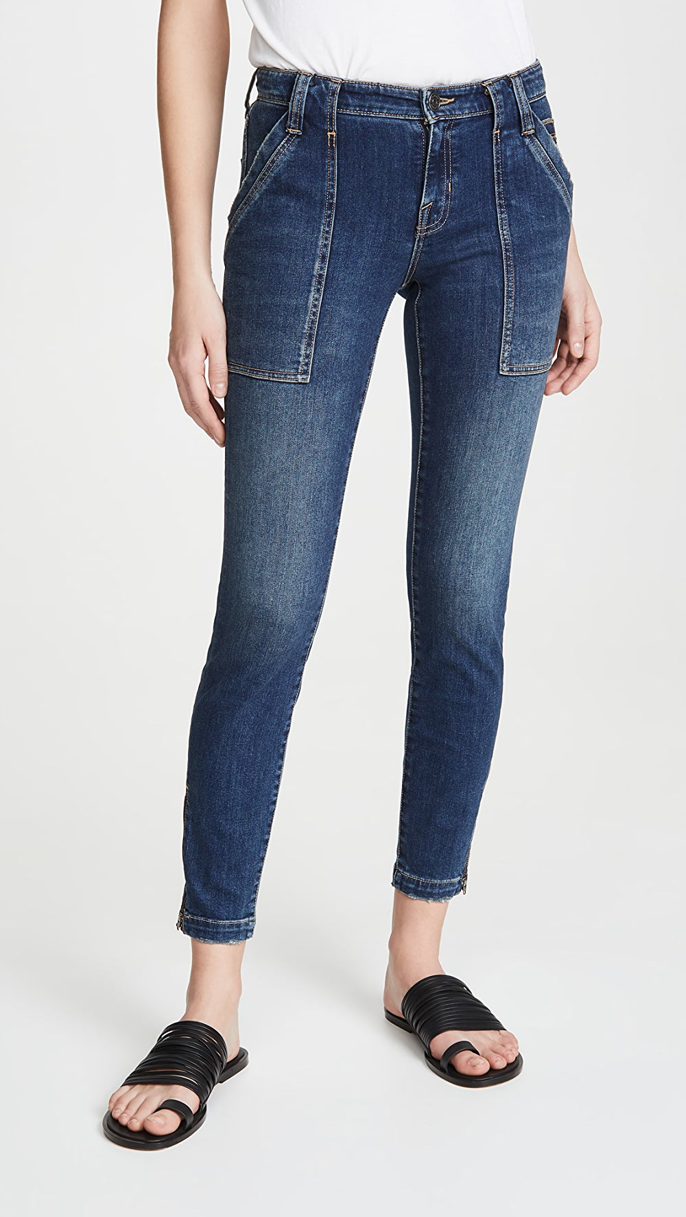 Industrious Joie - Denim Park Skinny D Jeans Fashionable(In) Style;