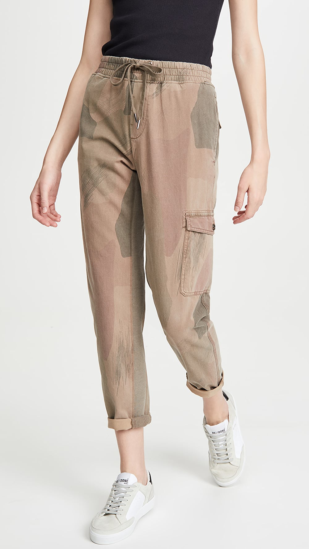 Independent James Perse - Camo Cargo Pants Durable Modeling