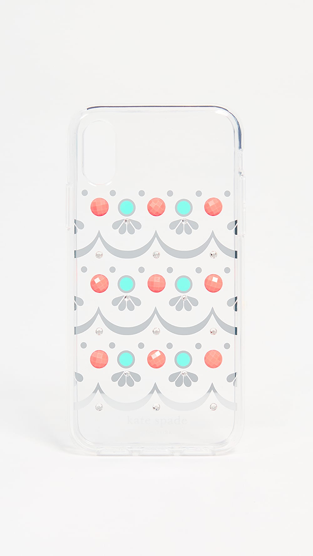 Considerate Kate Spade New York - Embellished Clear Iphone X / Xs Case Refreshing And Beneficial To The Eyes