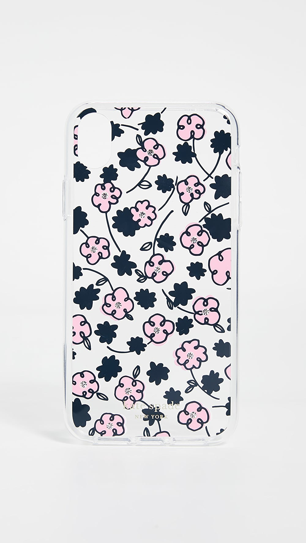 Cheap Price Kate Spade New York - Jeweled Floradoodle Iphone Case Sale Price