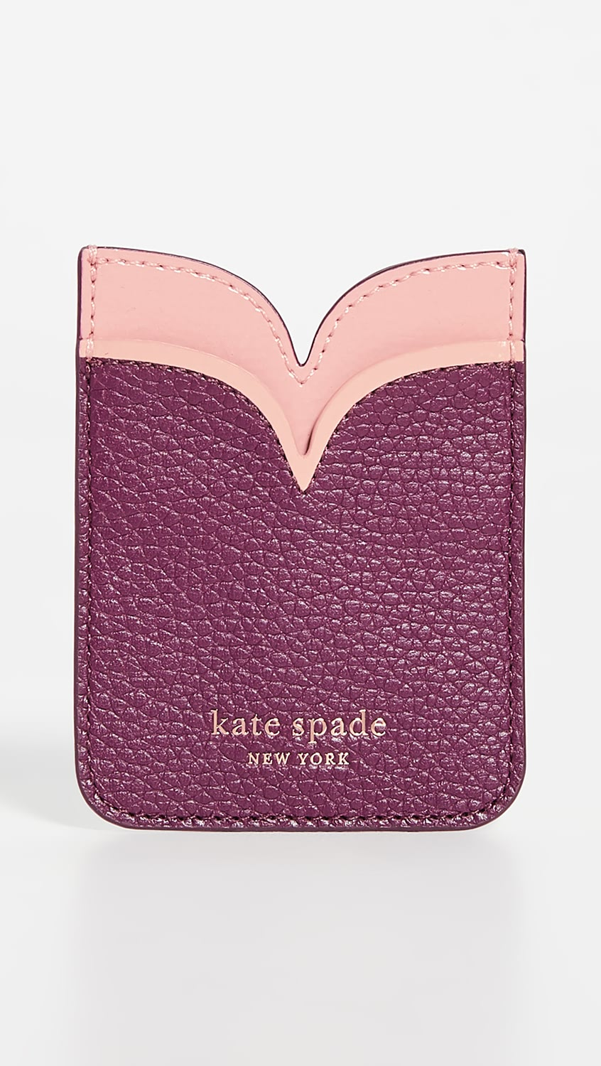 Helpful Kate Spade New York - Sam Double Sticker Pocket Reasonable Price