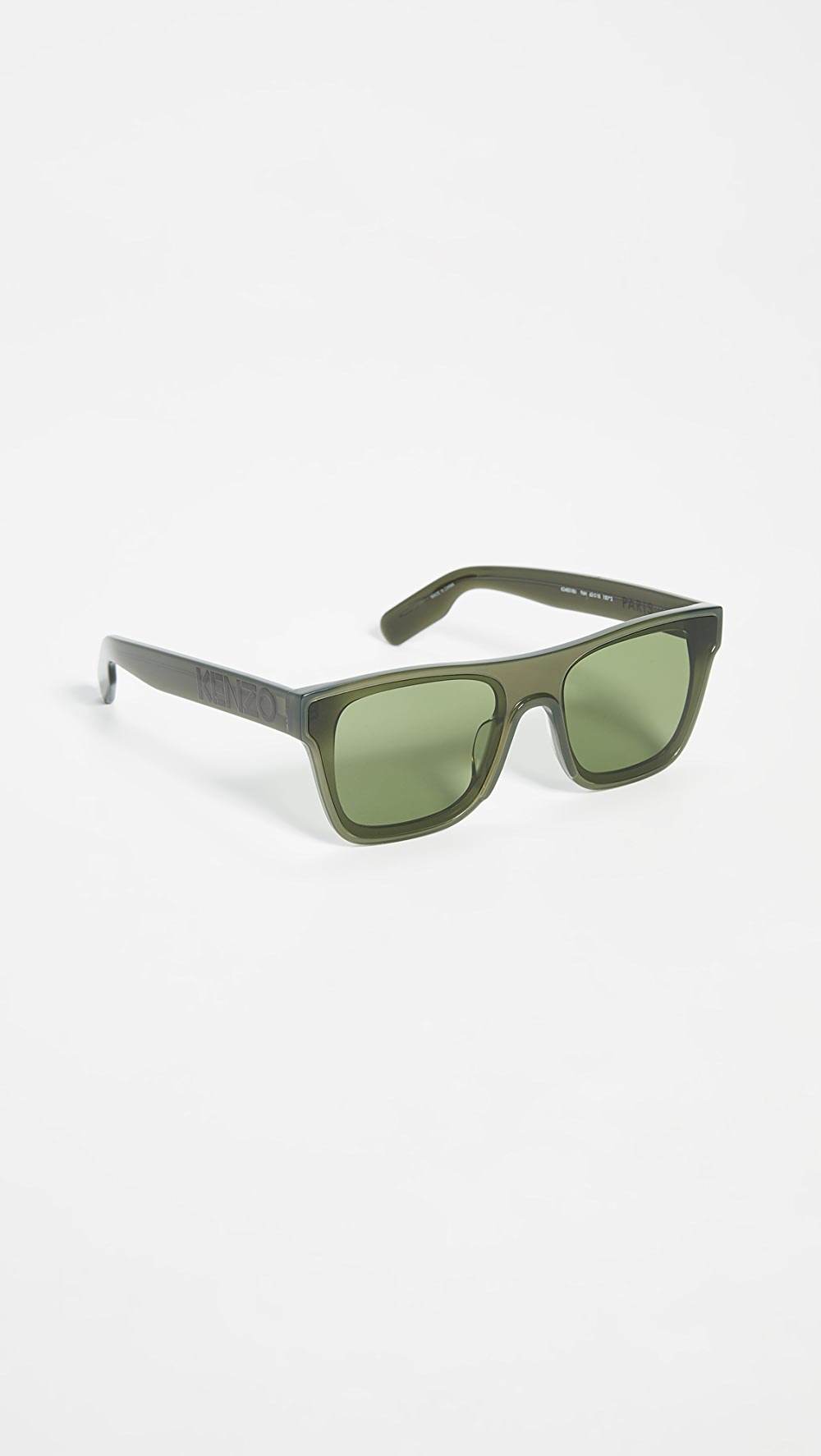 100% True Kenzo - Classic Flat Top Sunglasses Beautiful In Colour