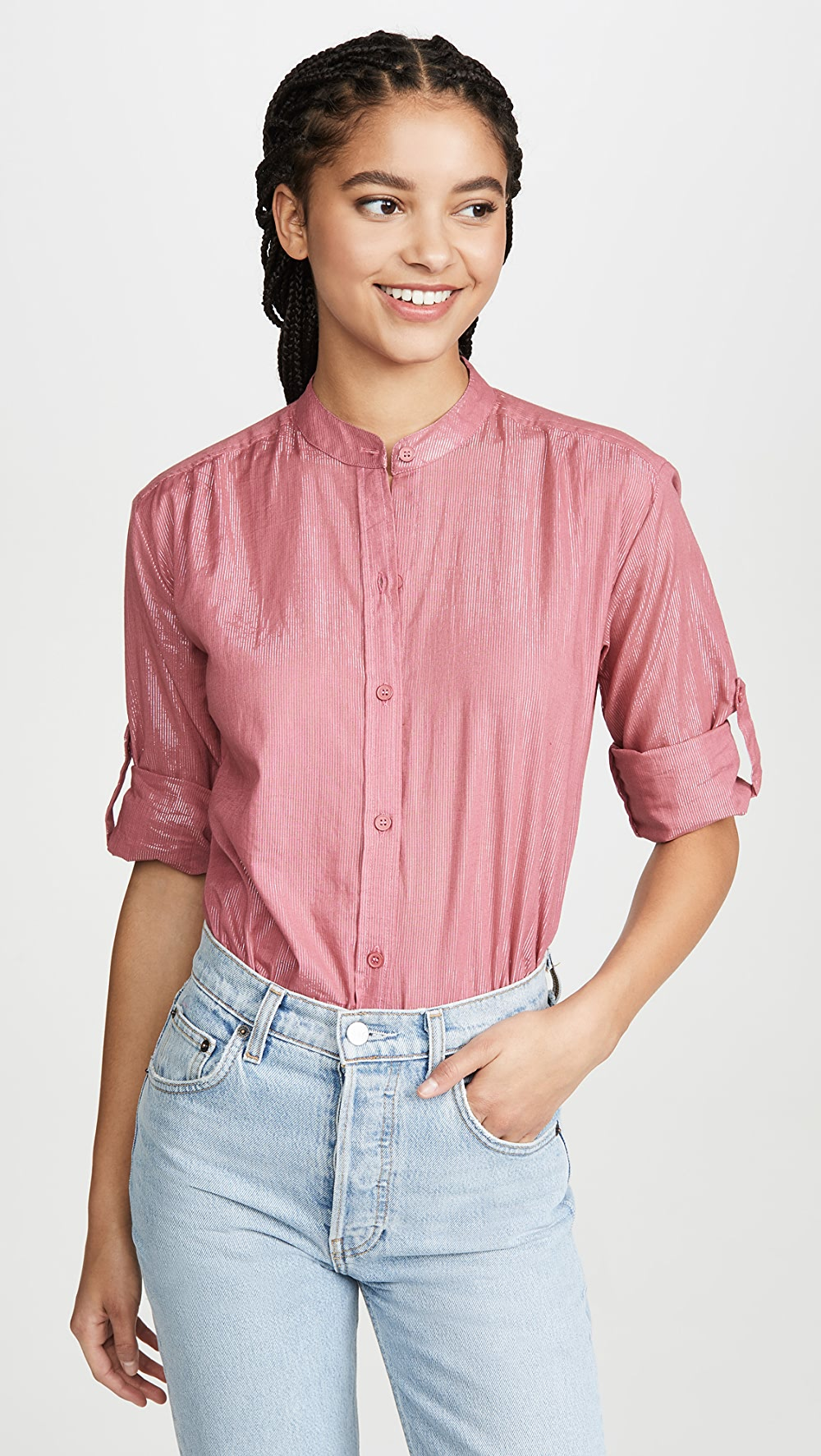 Alert Kondi - Metallic Blouse To Clear Out Annoyance And Quench Thirst